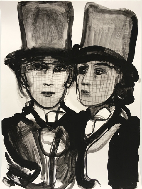 , 'Widows VII,' 2016, Sears-Peyton Gallery