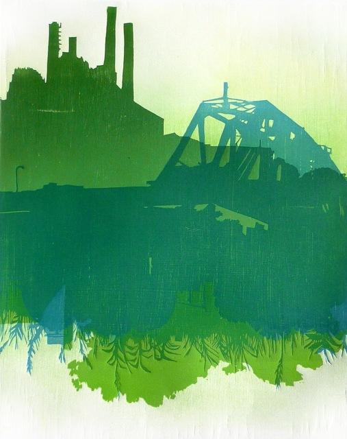 , 'On The River,' 2017, InLiquid