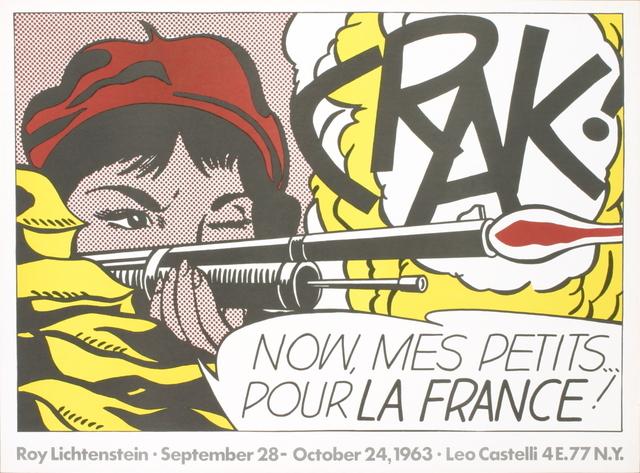 Roy Lichtenstein, 'Crak!', 1963, ArtWise