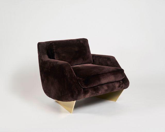 "Georgis & Mirgorodsky, '""Whalebone Marquise"" Armchair', 2016, Design/Decorative Art, Choice of wood or bronze supports, COM upholstery, Maison Gerard"