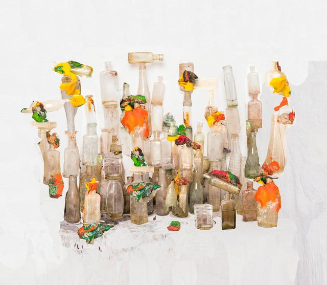 , 'Playdough and Bottles,' 2016, Huxley-Parlour
