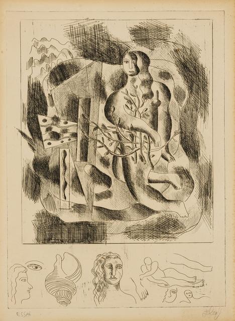 Fernand Léger, 'Nu au feuillage', circa 1931-32, Forum Auctions