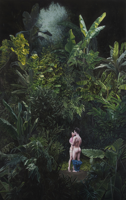 , 'Cae la noche tropical (under a tropical night),' 2014, Yael Rosenblut Gallery
