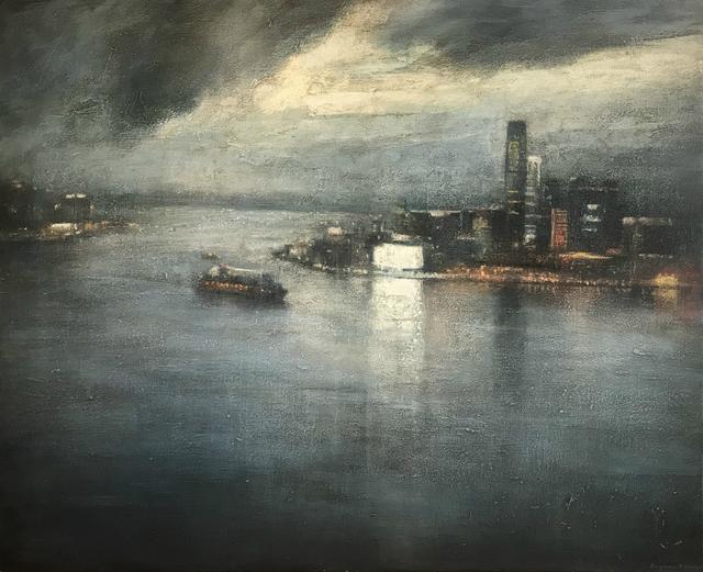 Benjamin Warner, 'Hong Kong Harbour at Dawn', 2018, Tanya Baxter Contemporary