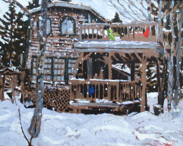 Glenn Hall, 'My Cabin Winter Snow', 2018, Gallery 78