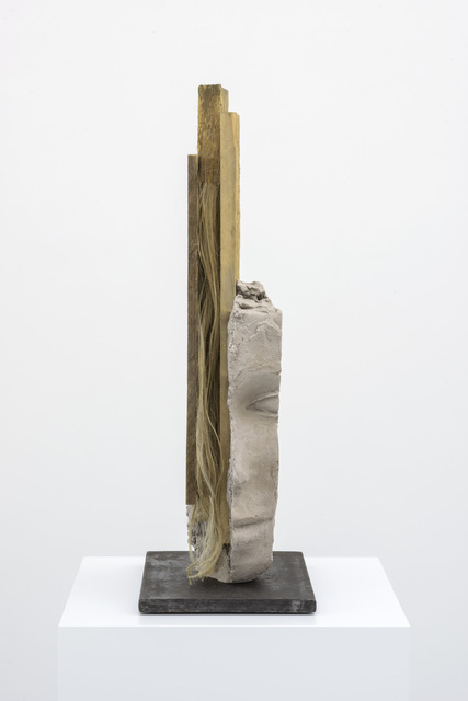 , 'Female Head with Long Verticals,' 2016, Zeno X Gallery