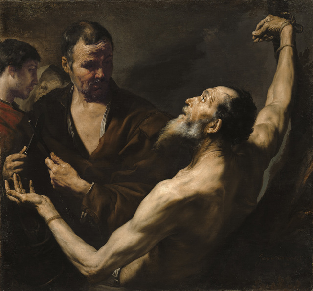 , 'The Martyrdom of Saint Bartholomew,' 1634, The National Gallery, London
