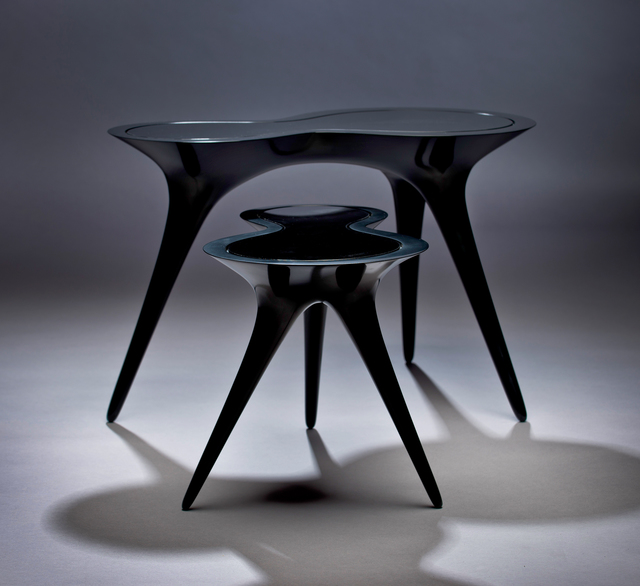 , 'Black Ice Tables,' 2014, Wexler Gallery