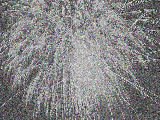 , '16777216 Colours as Fireworks, no. 4,' 2011, SCHEUBLEIN + BAK