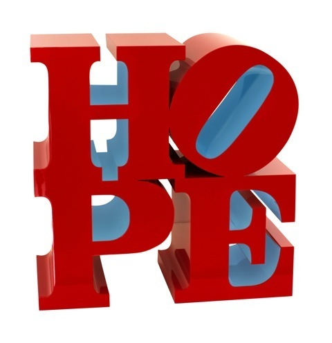 , 'Hope sculpture Red Light Blue,' 2009, Sm Fine Art Gallery
