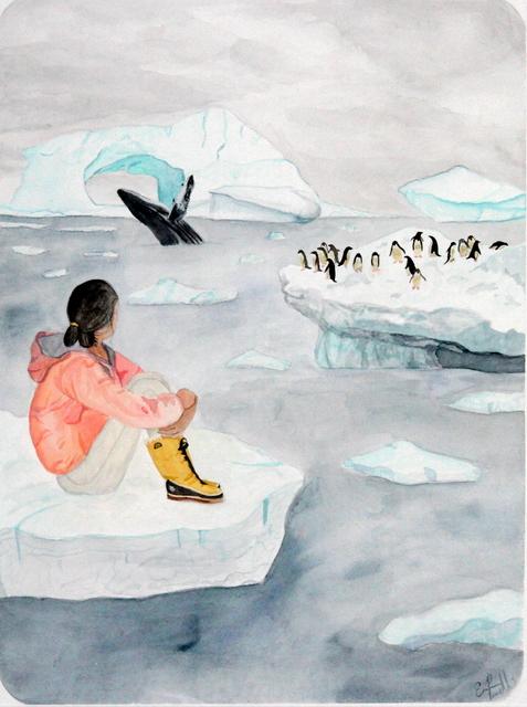 , 'Antarctica,' 2017, Bitfactory Gallery