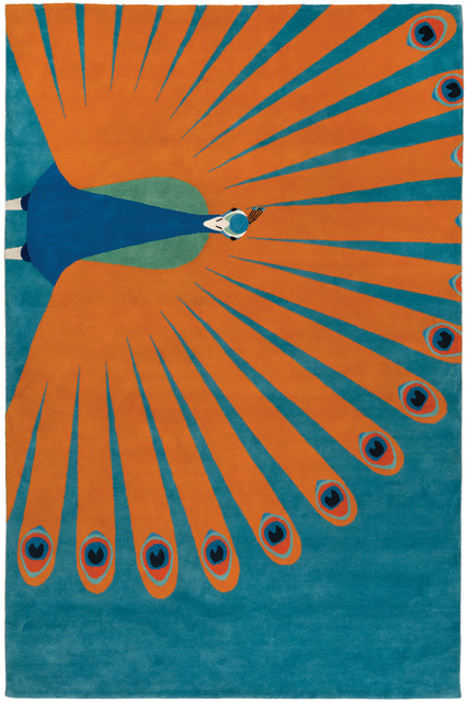 , 'Peacock,' , The Rug Company