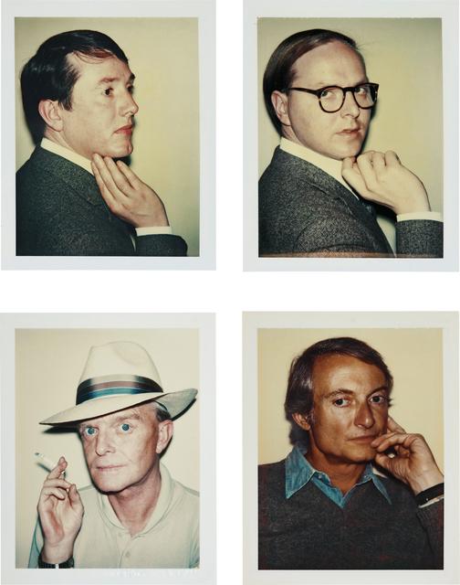 Andy Warhol, 'Gilbert & George, Truman Capote, Roy Lichtenstein', 1975-1981, Phillips