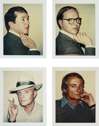 Gilbert & George, Truman Capote, Roy Lichtenstein