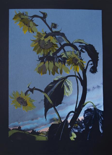Sondra Freckelton, 'Sunflowers, State II', 1990, Brooke Alexander, Inc.
