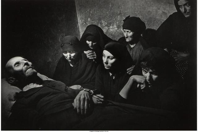W. Eugene Smith, 'Spanish Wake, Deleitosa, Spain', 1951, Heritage Auctions
