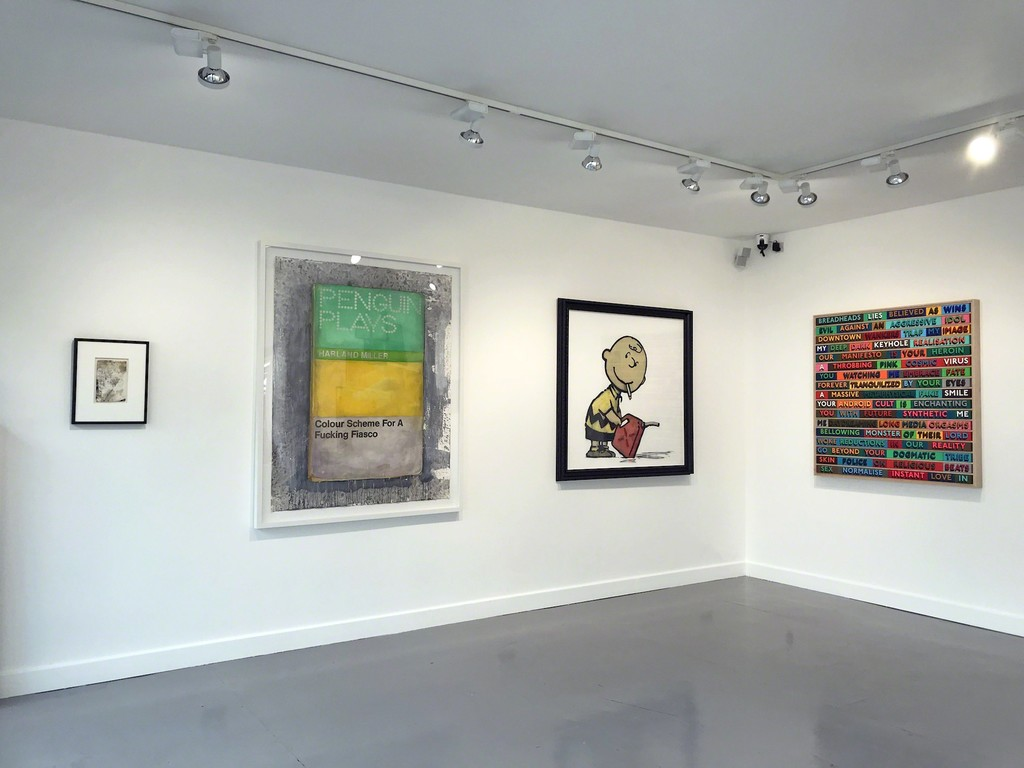 Harland Miller, Banksy and Oddly Head originals