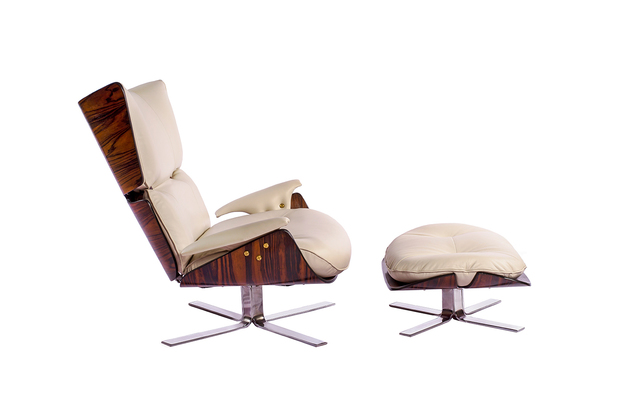 , 'Paulistana Lounge Chair & Ottoman,' 1956-1965, Peter Blake Gallery