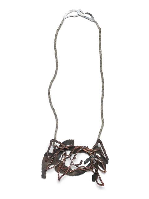 ", '""Something Crab-Like"", Necklace,' , The Gallery at Reinstein