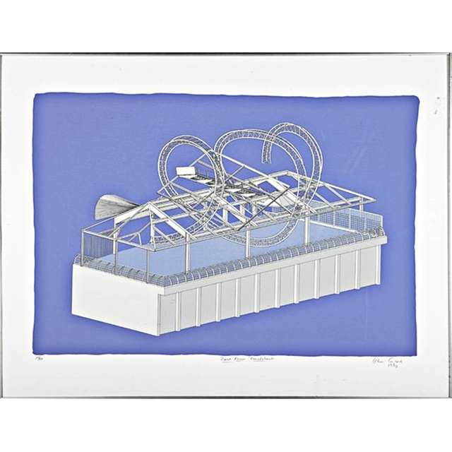 , 'East River Roundabout (Celebration of East River Pavilion, 60th Street NYC),' 1994, Alpha 137 Gallery