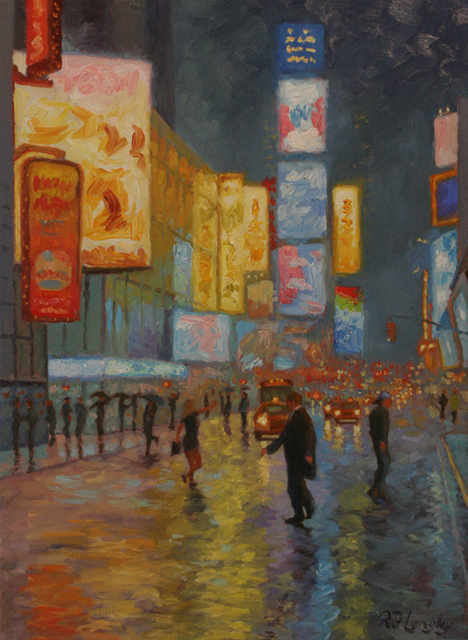 , 'Chance Encounter, Times Square,' 2014, Sorelle Gallery Fine Art