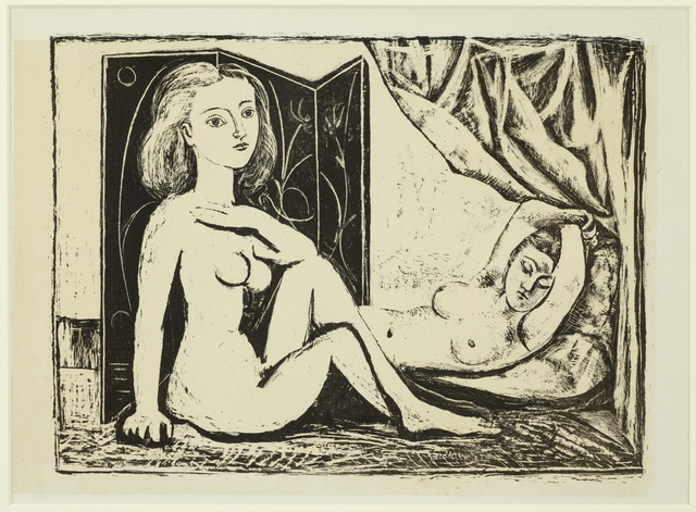 , 'Les Deux Femmes nues, State 9, 10th January 1946,' 1946, Cristea Roberts Gallery