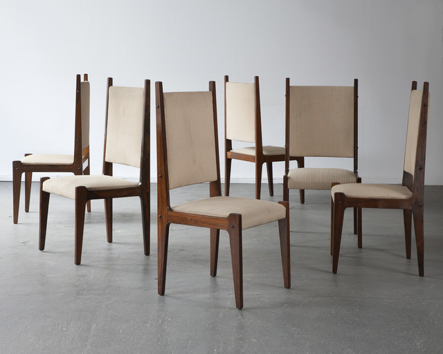 , 'Set of six chairs in jacaranda,' 1970s, R & Company