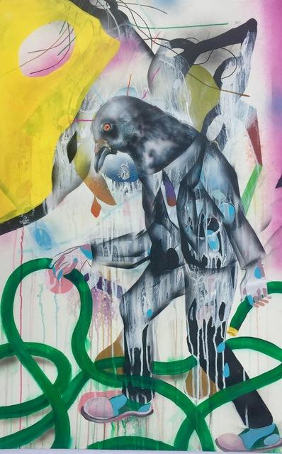 , 'Bird Man,' 2008, Mark Moore Fine Art