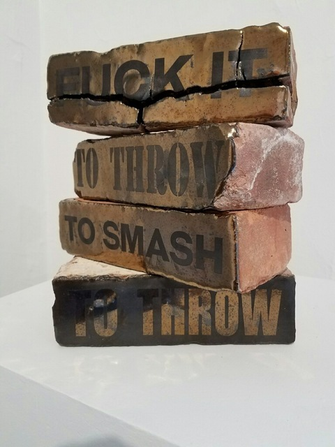 , 'Riot Bricks,' 2015, Air Mattress Gallery