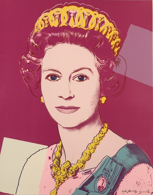 Andy Warhol, 'Reigning Queens: Queen Elizabeth II of the United Kingdom,', 1985, Print, Screenprint on Lenox Museum Board, Coskun Fine Art