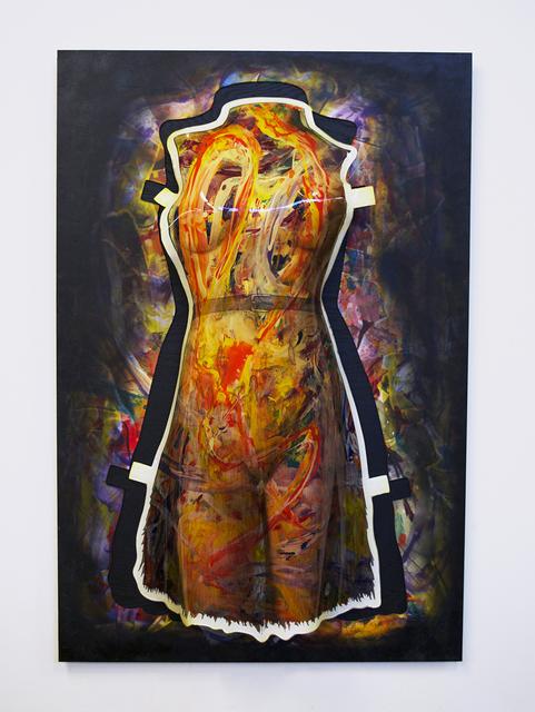 "Rick Lazes, '""Sophia""', 2017, Ezair Gallery"