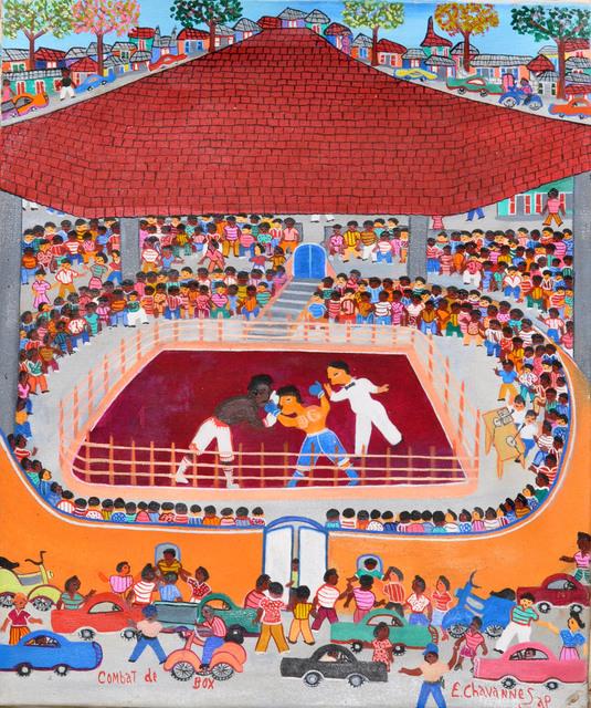 , 'Combat de boxe,' , Le Centre d'Art d'Haïti