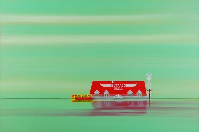 , 'Buffalo Grill 2,' 2018, The Grey Gallery