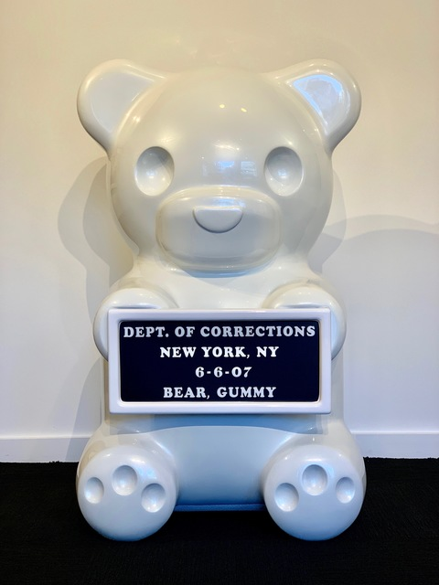 , 'Pearlescent White Vandal Gummy Bear,' , Art Angels
