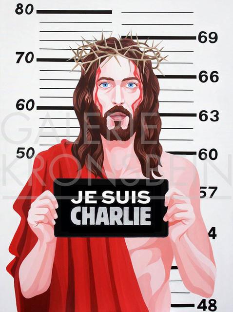 , 'Jesus Charlie,' 2015, Galerie Kronsbein