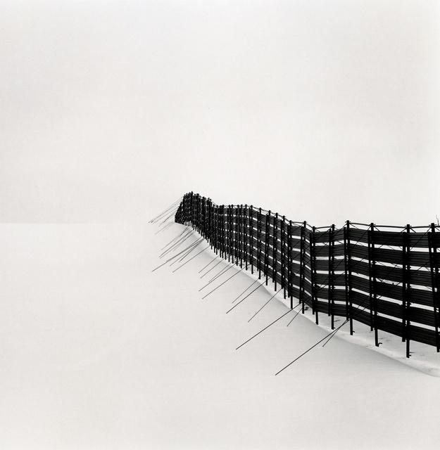 Michael Kenna, 'Prolonged Snow Fence, Teshikaga, Hokkaido, Japan', 2007 (printed 2019), Peter Fetterman Gallery