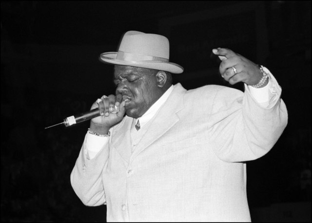 David Corio, 'Notorious B.I.G., Meadowlands, New Jersey ', 1995, ElliottHalls