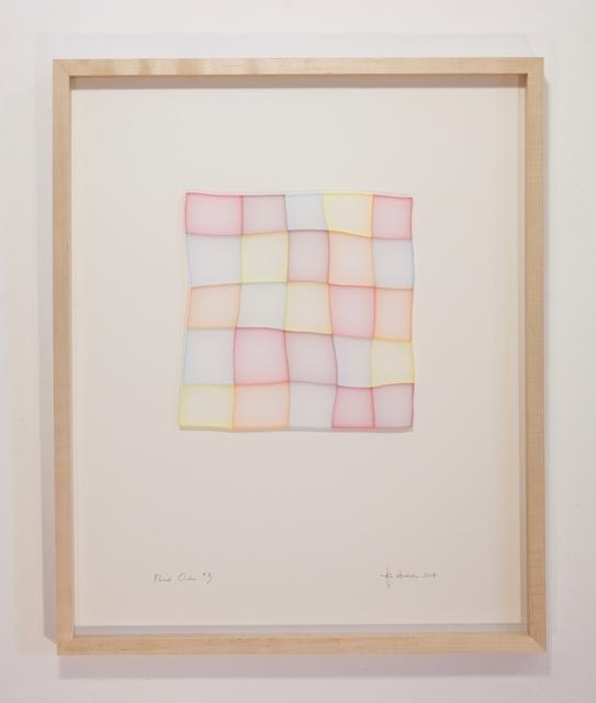 """, '""""Fluid Order *3"""",' 2017, Galerie Dutko"""