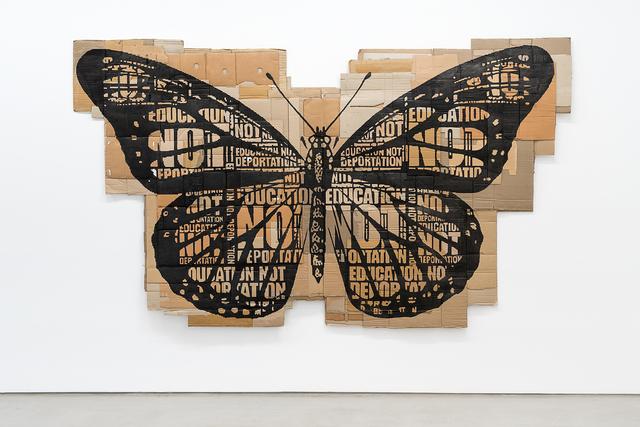 , 'Papillon Monarque,' 2014, G2 Kunsthalle
