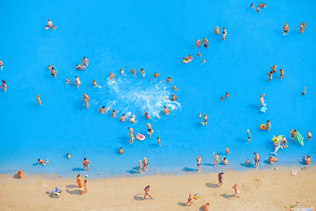 , 'Adriatic Sea (Staged) Dancing People 9,' 2015, Yancey Richardson Gallery