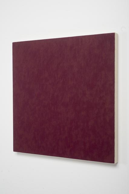 , 'Table of Pigments: Paliogen Maroon,' 1998, CONRADS