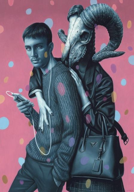 , 'The Dance,' 2017, Galerie Matthew Namour