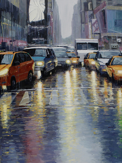 , 'Rain-NY ,' 2012, Alessandro Berni Gallery