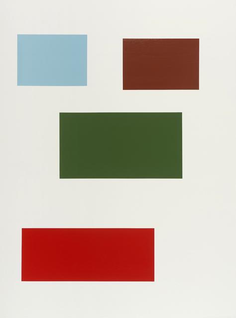 , 'Large Survey (Mana),' 2015, Rick Wester Fine Art
