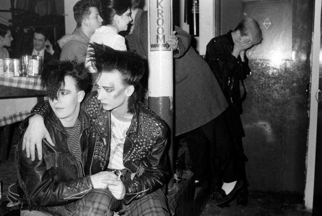 , 'Boy George and friend Wilf Rogers, Blitz Club New Romantic, London,' 1980, Les Douches La Galerie
