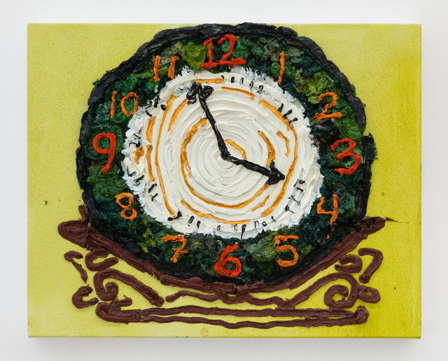 , 'Clock,' 2017, MARTOS GALLERY