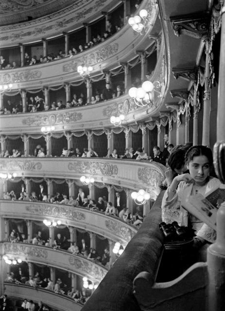 Alfred Eisenstaedt, 'Premiere at La Scala, Milan', 1934, Atlas Gallery