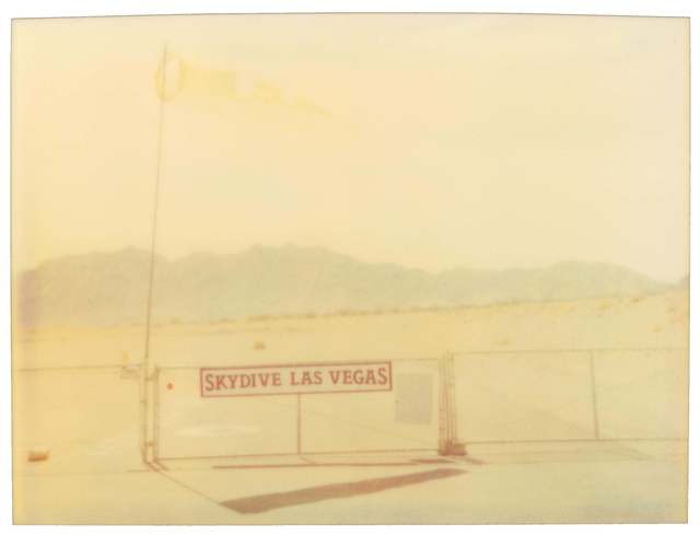 Stefanie Schneider, 'Skydive (Vegas)', 1999, Photography, Analog C-Print, hand-printed by the artist on Fuji Crystal Archive Paper, based on a Polaroid, not mounted, Instantdreams