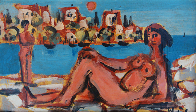 , 'Girl from Skiathos,' 1982, Winchester Galleries