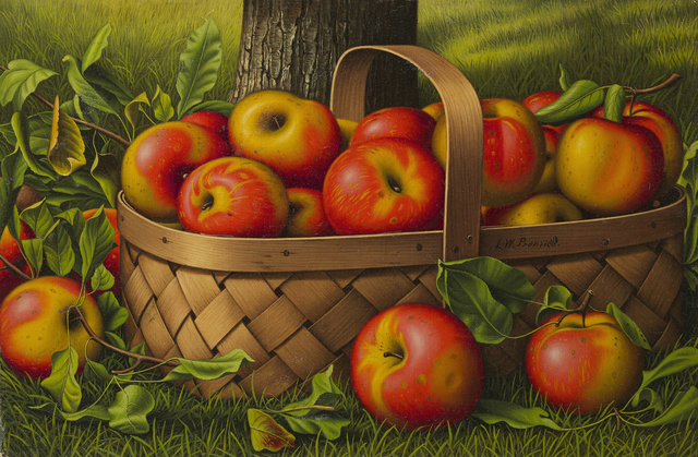 , 'Apples in a Basket,' , Questroyal Fine Art
